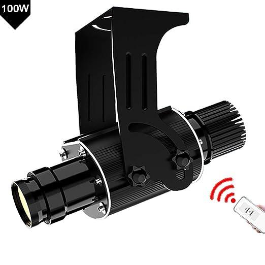 FDYD GOBO de la Insignia LED de luz del proyector del GOBO 100W ...