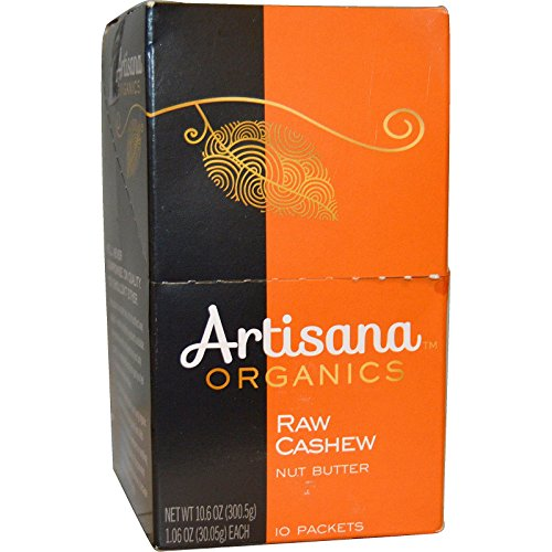 Artisana Organics – Cashew Butter, Travel Snacks, no added sugar or oil, Certified organic, RAW and non-GMO, rich and creamy Review