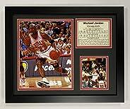 "Legends Never Die ""Michael Jordan Home"" Framed Photo Collage, 11 x 14-Inch, Mod"