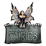 Design Toscano Don't Piss Off The Fairies Wall Plaque