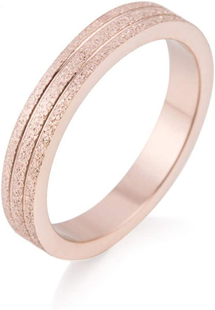Arain Lifetime Love Rings for Women Valentine's Day Promise Engagement Wedding Titanium Stainless Steel High Polish Plain Dome Tarnish Resistant Band Size Comfort Fit Size 6-9