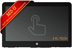 "JYLTK New Genuine 13.3"" FHD LCD Screen Display + Touch Digitizer + Bezel Fame + Touch Control Board Assembly for HP Pavilion x360 M3-U101DX M3-U001DX 13-u103la 13-u100nc 13-u106nf"