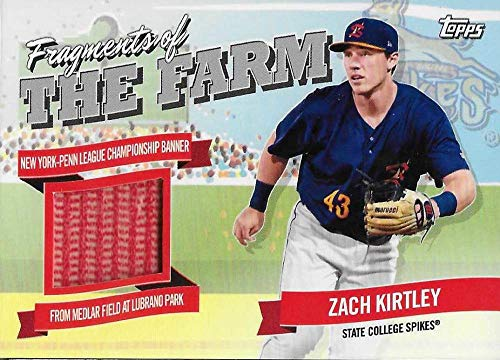 2018 Topps Pro Debut Fragments of the Farm Relics #FOTF-SCS Zach Kirtley NM-MT MEM from Pro Debut