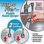Egab Flexible Faucet Sprayer (6 inch, Silver)