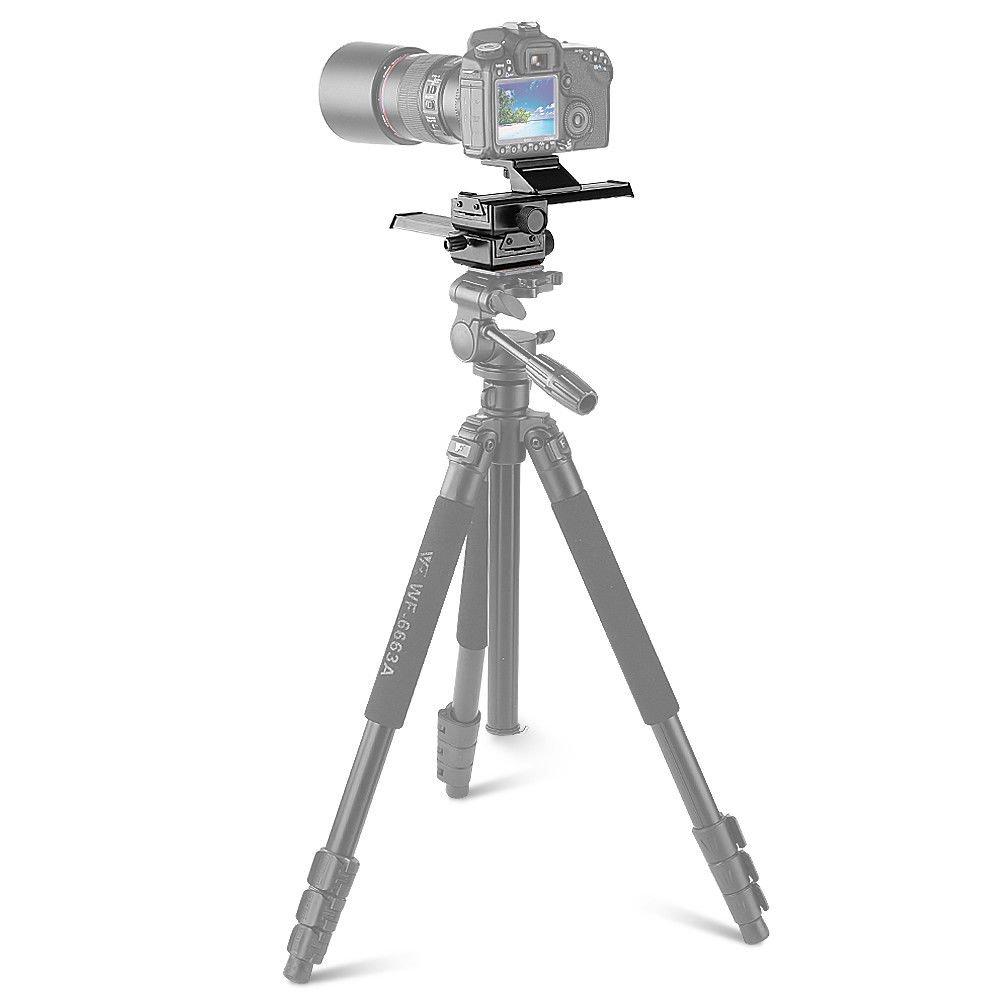 GSV Store 4 Way Macro Focusing Rail Slider Close-up Shooting Guider for SLR DSLR by GSV Store