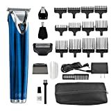 Wahl Clipper Stainless Steel Lithium Ion Plus Beard Trimmer Kit...