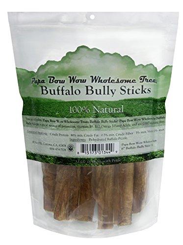 Papa Bow Wow Wholesome Treats Buffalo Bully Styx, 6