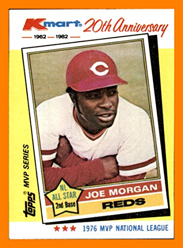 1982 K-Mart #28 Joe Morgan 1975 HOF CINCINNATI REDS Big Red ()