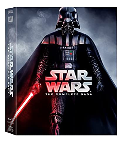 Star Wars: The Complete Saga (Episodes I-VI) [Blu-ray] (Star Wars Widescreen Trilogy)