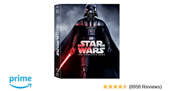 Amazon com: Star Wars: The Complete Saga (Episodes I-VI