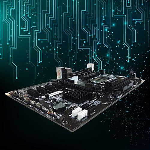 LoveOlvido Scheda Madre Colorata H81A-BTC V20 Scheda ATX minatore Processore Socket LGA1150 Scheda Madre H81 Supporto 6 Scheda Grafica per Data Mining - Multicolore