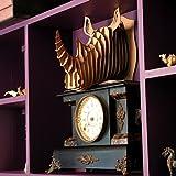 Cardboard Safari Recycled Cardboard Animal Taxidermy Rhino Trophy Head, Robbie Brown Small