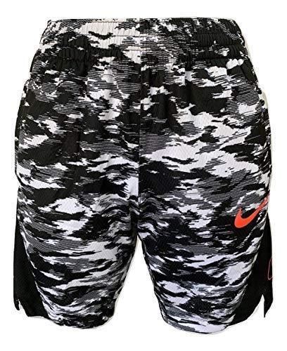 Nike Dri-FIT Elite Girls' Basketball Shorts AV2914 (Black/White/Hyper Pink,