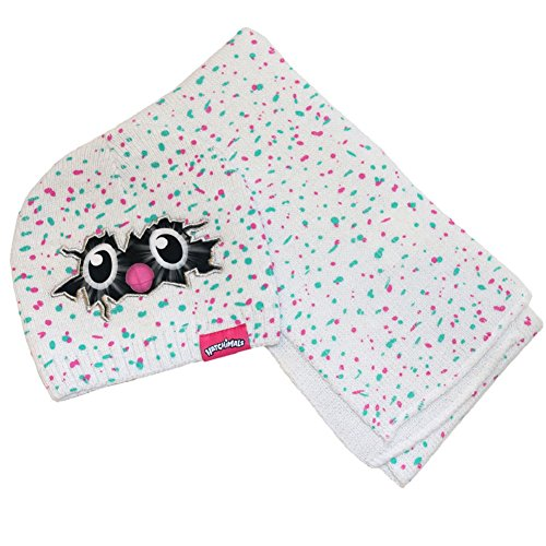 Price comparison product image Hatchimals Beanie Hat and Scarf Girls Cold Weather Knit Cap and Knit Scarf