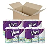 VIVA Signature Designs Full Sheet Paper Towels, Print, Big Roll, 24 Rolls, 2 Units