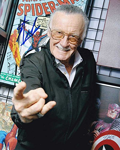 Stan Lee In-person Autographed Photo Spider-Man