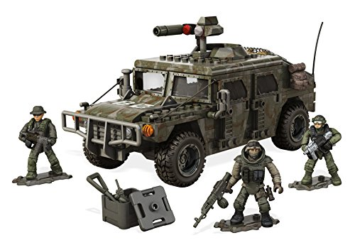 Mega Construx Call Of Duty Armored Vehicle Charge Building