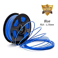 DAZZLE LIGHT 3D Printer PLA Filament 1.75mm Dimensional Accuracy +/- 0.02 mm 2.2 LBS (1KG) Spool … by DAZZLE LIGHT