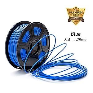 DAZZLE LIGHT 3D Printer PLA Filament 1.75mm Dimensional Accuracy +/- 0.02 mm 2.2 LBS (1KG) Spool … by DAZZLE LIGHT