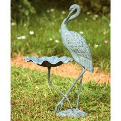 - SPI Home 33086 Crane Birdbath