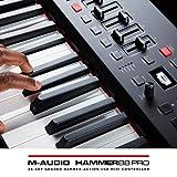M-Audio Hammer 88 | Premium 88-Key Hammer-Action USB