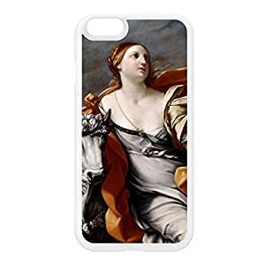Europa and the Bull by Guido Reni White Silicon Rubber Case for iPhone 6 by Painting Masterpieces + FREE Crystal Clear Screen Protector