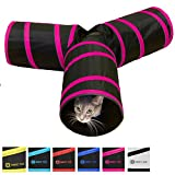 Best Brands Toys - Longer Tunnel of Fun, Collapsible 3-way Cat Tunnel Review