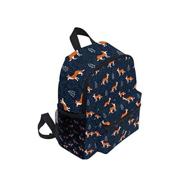 Foxes - Zaino da scuola per bambini e ragazze per bambini, 3 – 8 anni, colore: Blu 2 spesavip