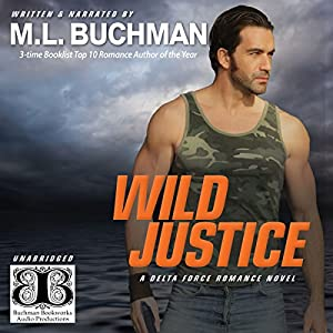 Wild Justice (Delta Force Book 3) Audiobook