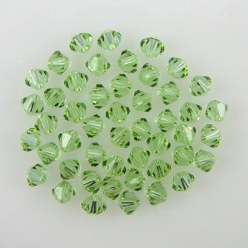 Bicone Cantaloupe - 48 4mm Swarovski crystal bicone 5301 Cantaloupe beads