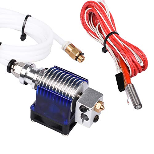 AS RETAILS 3D V6 Hotend Full Kit 1.75 mm 12V Bowden/RepRap 3D printer extruder 0.4 mm Nozzle Price & Reviews