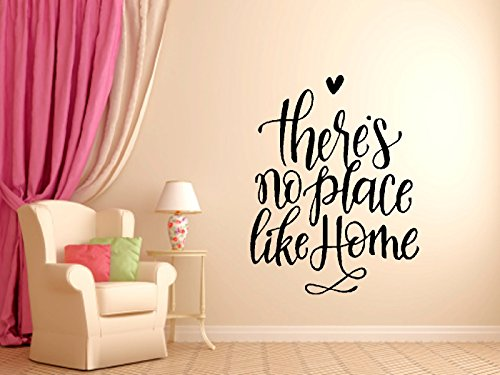 Theres No Place Like Home Wall Decal - 14x18