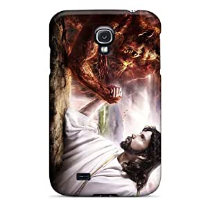JeffMclaren Galaxy S4 Hard Case With Fashion Design/ MhYQeON8824qRnED Phone Case