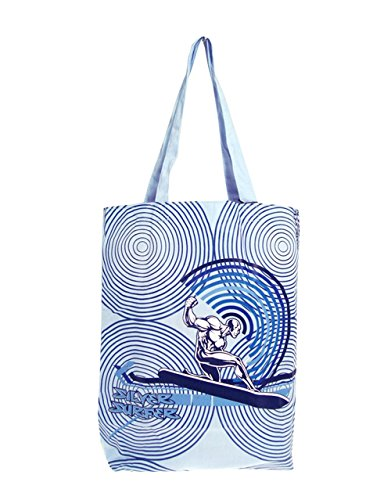 Bag Tote Surfer Tote Marvel Bag Silver Silver Marvel Surfer Bxazg