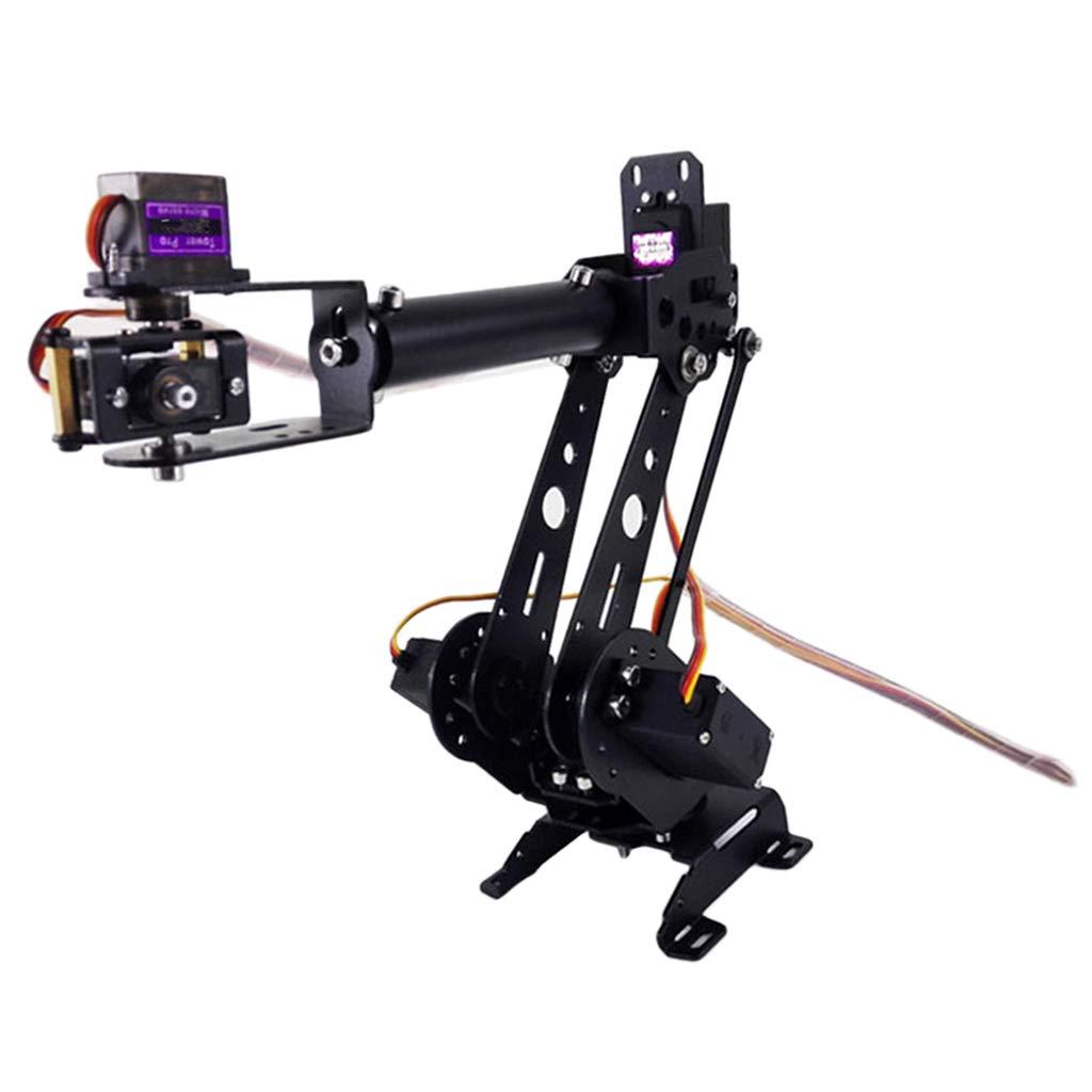 F Fityle DIY Montiert 6-dof Mechanik Griff Roboterarm MG-996R für Robotik Learning Kit