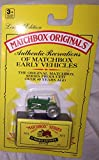 1993 Matchbox Originals Limited Edition Collectors' Series I 1:72 Scale Diecast Vehicle with Authentic Collector Box- Massey Harris Tractor No.4