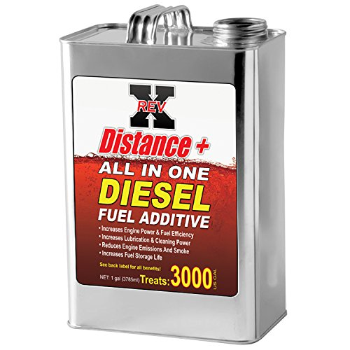 REV-X Distance + Diesel Fuel Additive – 1 Gallon Treats 3000 Gallons