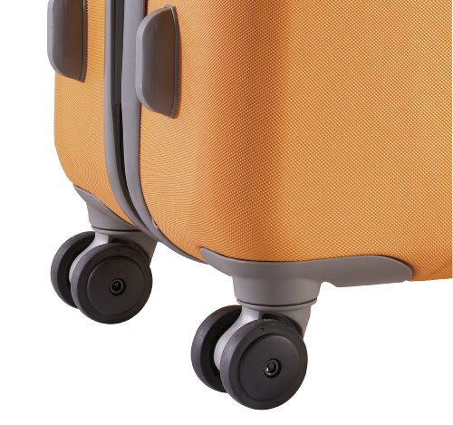 Heys - Crown Elite XC Orange Trolley mit 4 Rollen Klein