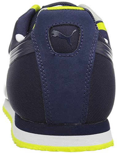 Puma - PUMA Herren Roma Basic Geometrische Camo Fashion Sneaker Peacoat