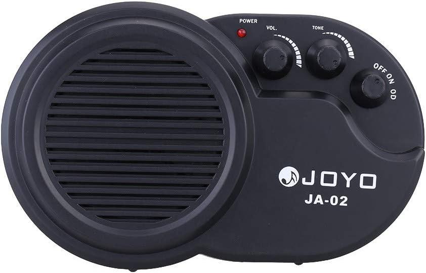 JOYO JA-02 3W Mini Electric Guitar Amp Amplificateur Haut-parleur Avec R/églage Du Volume Sonore Distorsion
