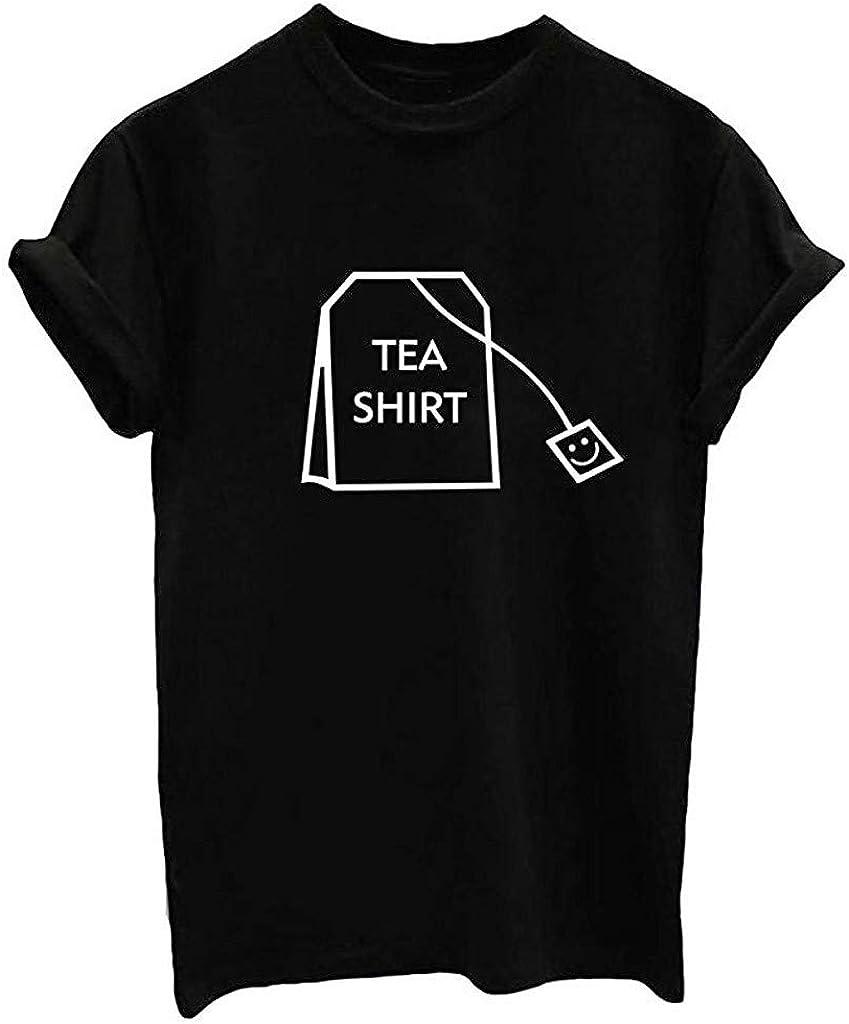 2020 Review T-Shirt O-Neck Short Sleeve Blouse for Women Men Teens Funny Tops