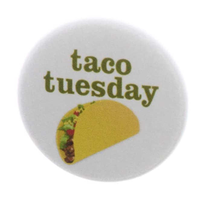 Amazon.com: A & T diseños – Taco Tuesday 2.25