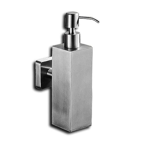 Lemon Cloud sobre soporte de pared ducha Bomba Loción Champú y dispensador de jabón acero inoxidable