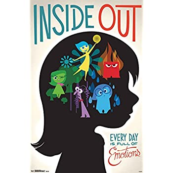 "Trends International Inside Out Emotions Wall Poster 22.375"" x 34"""