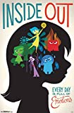 "Amazon Price History for:Trends International Inside Out Emotions Wall Poster 22.375"" x 34"""