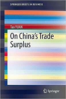 Book On China's Trade Surplus (SpringerBriefs in Business)