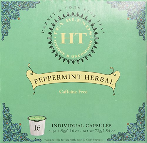 Harney Sons Peppermint Herbal Capsules