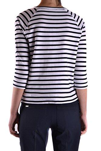 Woolrich Femme WWFEL1016AF028244 Blanc Coton Sweatshirt