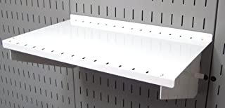 product image for Wall Control Pegboard Shelf 9in Deep Pegboard Shelf Assembly for Wall Control Pegboard and Slotted Tool Board – White