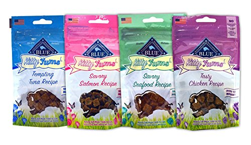 Blue Buffalo Kitty Yums Cat Treats Variety Pack - 4 Flavors